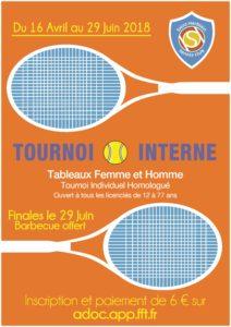 Tournoi Interne 2018
