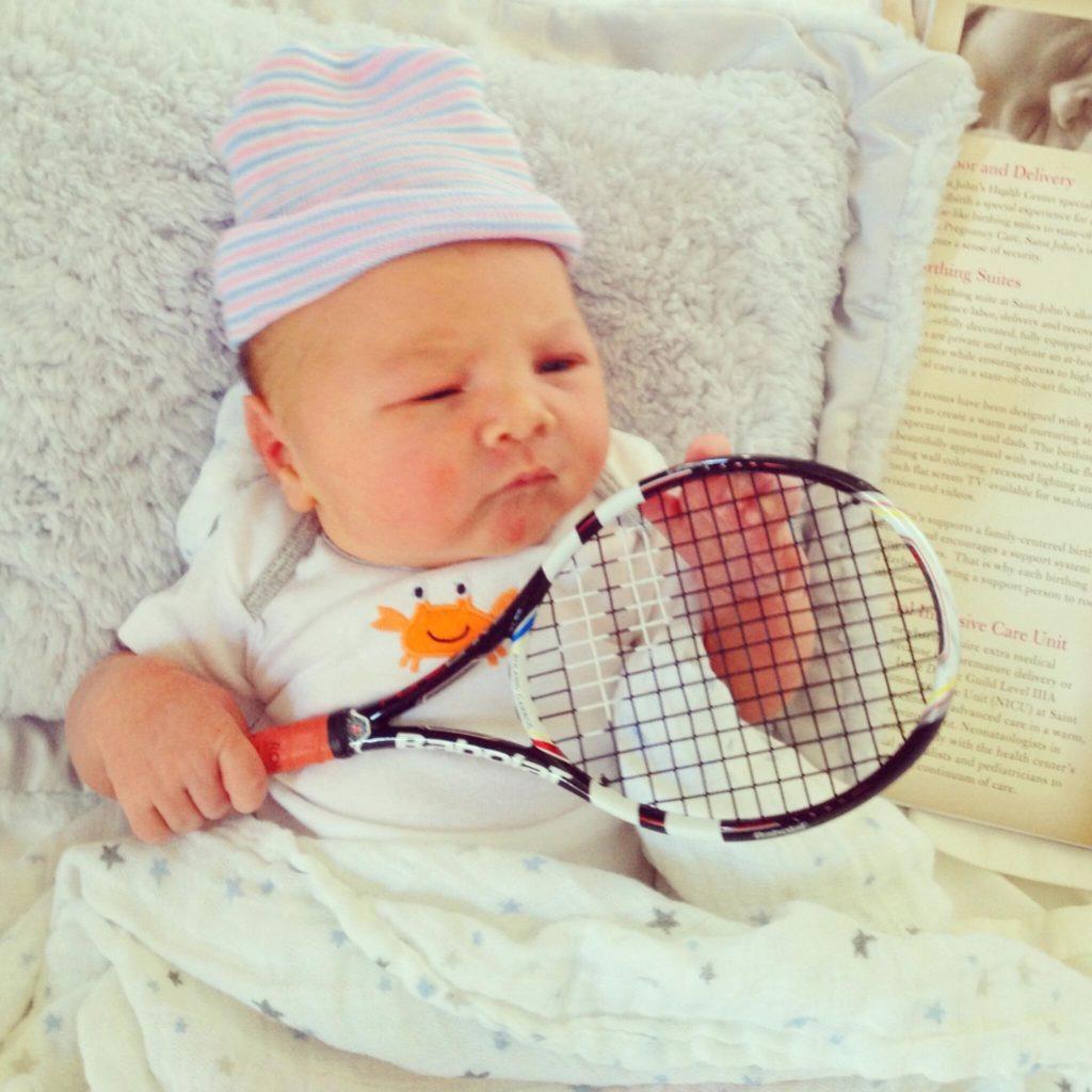 Le Baby Tennis, un moment réservé aux plus jeunes