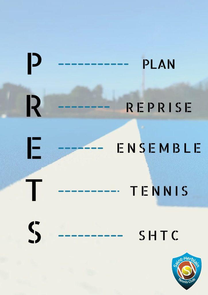 """Le PRETS : """"Plan de Reprise Ensemble du Tennis au SHTC"""""""