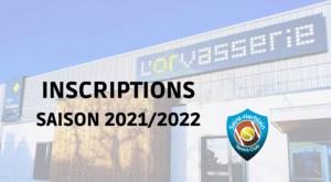 C'est parti pour les inscriptions 2021/2022